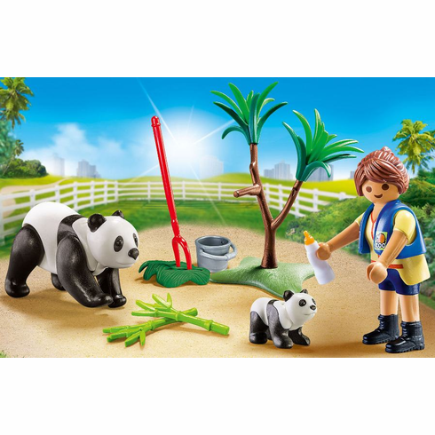 Playmobil - Panda Caretaker Carry Case