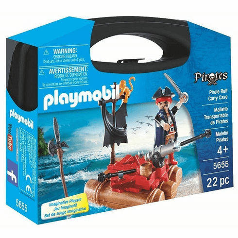 Playmobil - Pirate Raft Carry Case