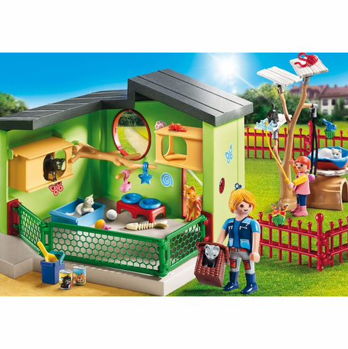 Playmobil - Purrfect Stay Cat Boarding