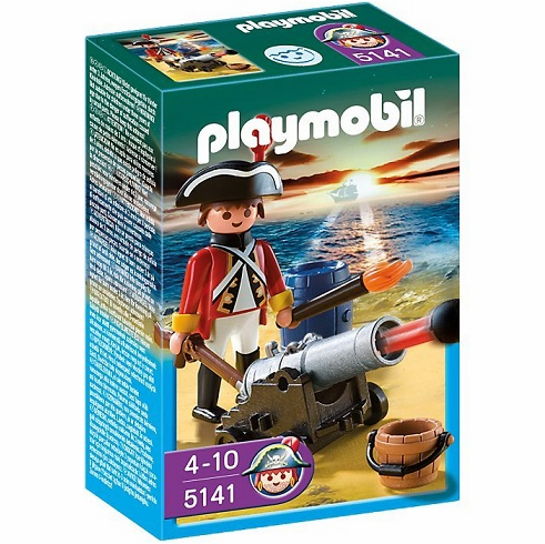 Playmobil - Redcoat Guard w/ Cannon