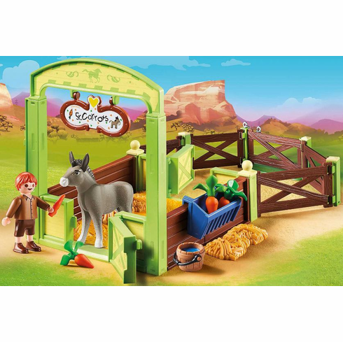 Playmobil - Snips and Senor Carrots with Horse