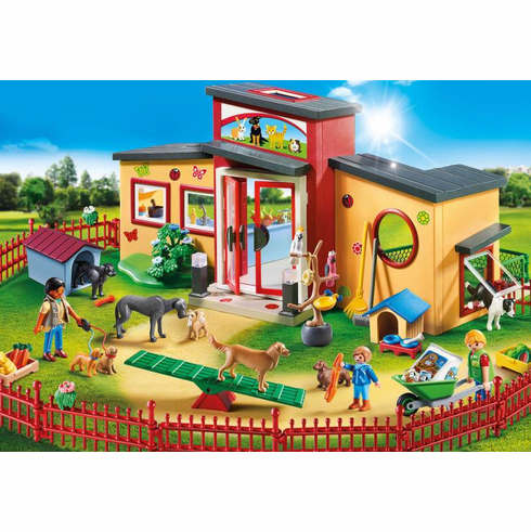 Playmobil - Tiny Paws Pet Hotel