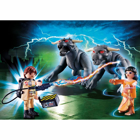 Playmobil - Venkman and Terror Dogs