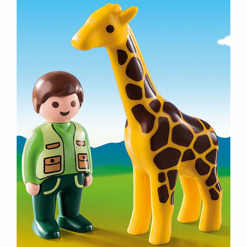 Playmobil - Zookeeper with Giraffe