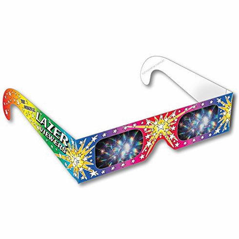 Rainbow Symphony 3D Fireworks Glasses - Original Laser Viewers