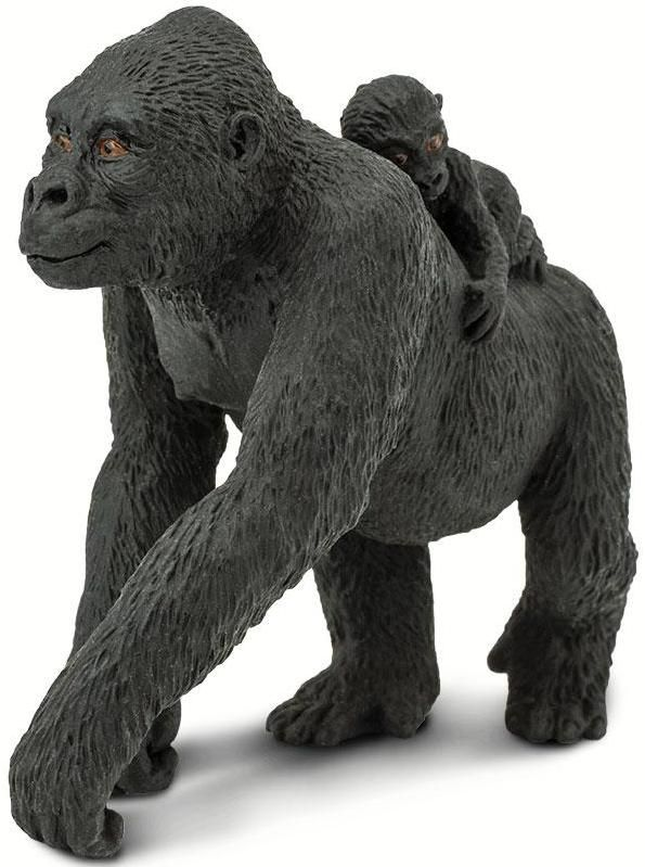 Toys For Infants >> Safari Ltd. Wildlife - Lowland Gorilla with Baby by Safari ...
