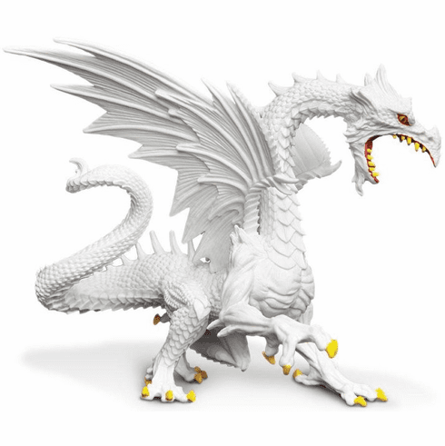 Safari Ltd. - Glow-in-the-Dark Snow Dragon