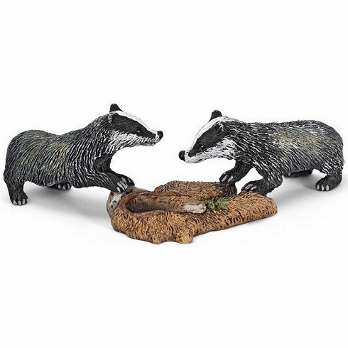 Schleich - Badger Cubs