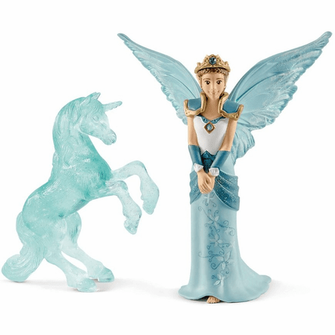 Schleich Bayala Movie - Eyela with Unicorn Ice Sculpture