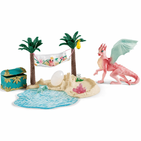 Schleich - Dragon Island with Treasure