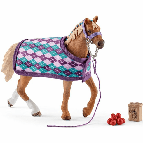 Schleich - English Thoroughbred w/ Blanket