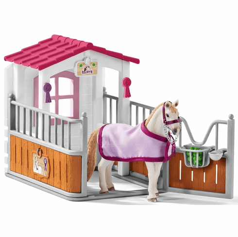 Schleich - Horse Stall with Lusitano Mare