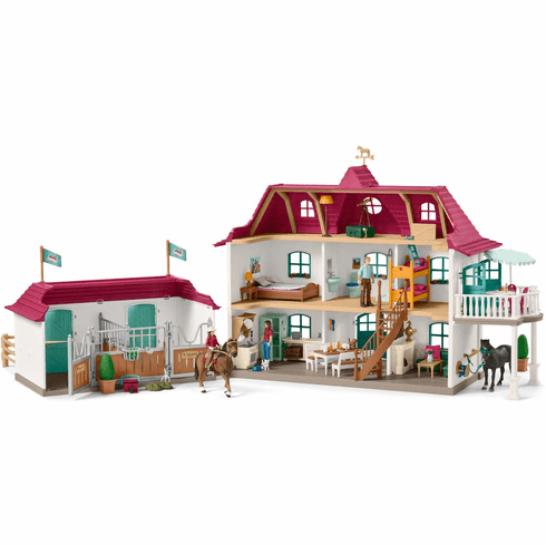 Schleich - Large Horse Stable with House and Stable
