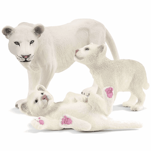 Schleich - Lion Mother with Cubs