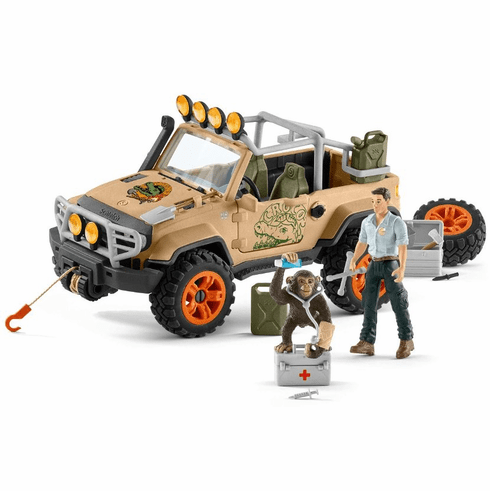 Schleich - Off Roader with Winch