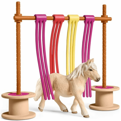 Schleich - Pony Curtain Obstacle