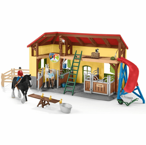 Schleich - Shire Horse Stable