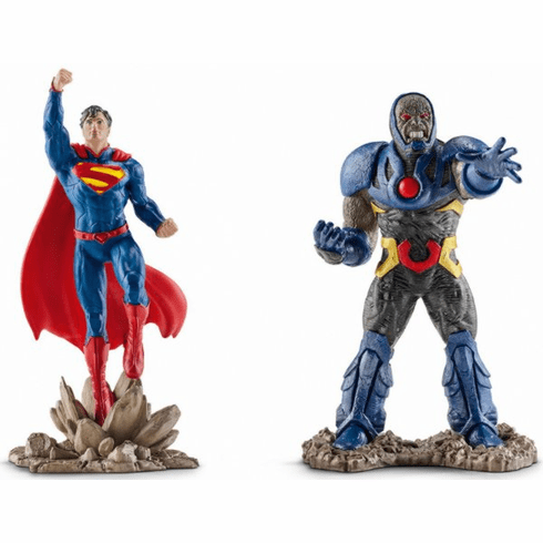 Schleich - Superman vs. Darkseid Scenery Pack