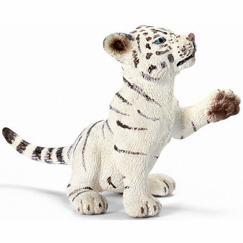 Schleich - Tiger Cub White - Playing