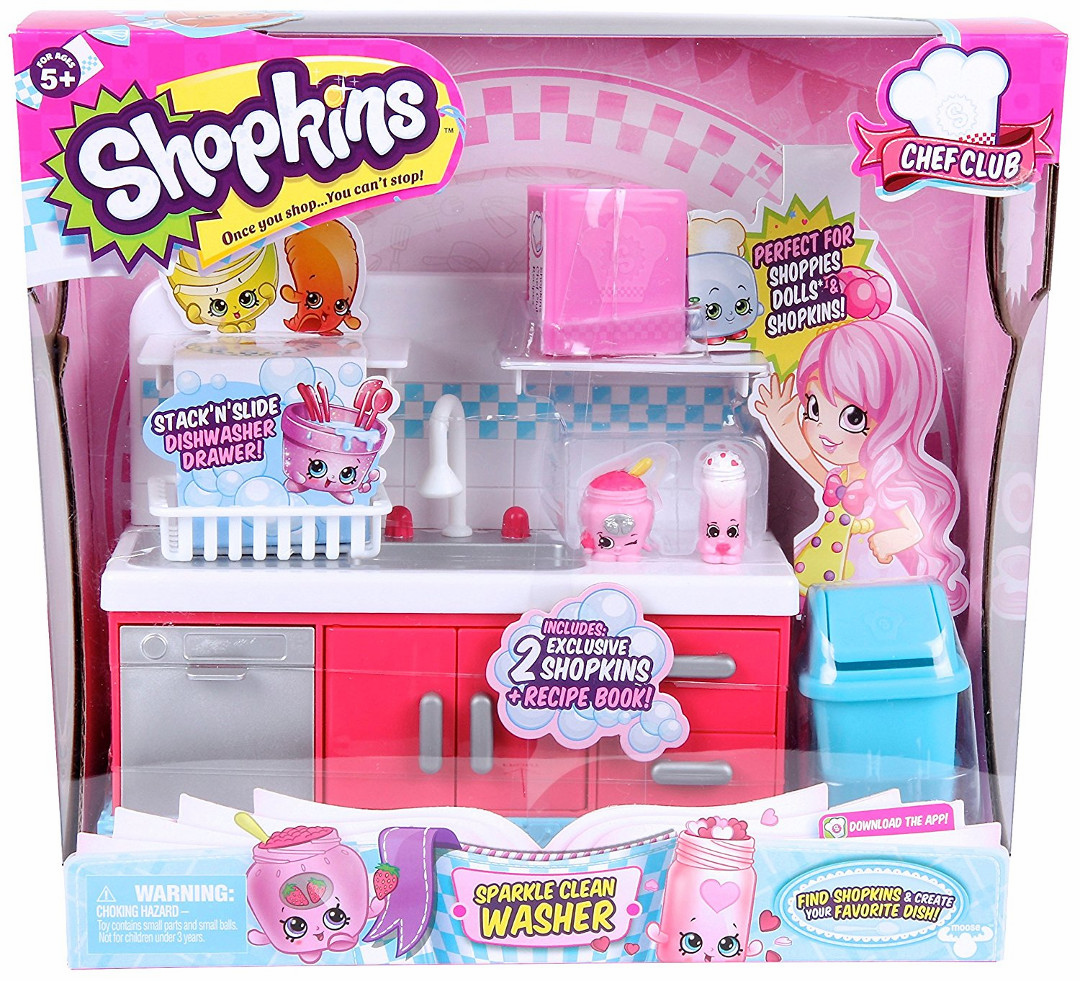 Shopkins Chef Club - Sparkle Clean Washer
