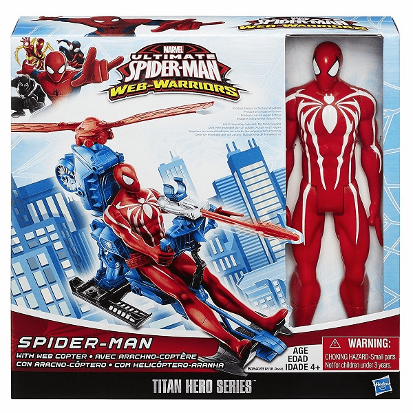 Spider Man w/ Web Copter