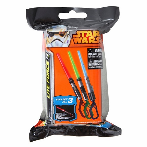 Star Wars - Light Saber Mystery Pack (one per pack)