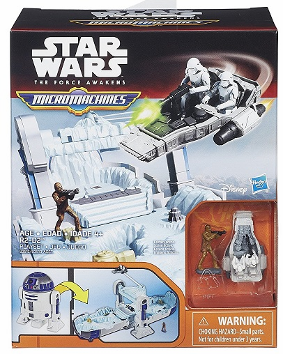 Star Wars - Micromachines - R2D2 Playset