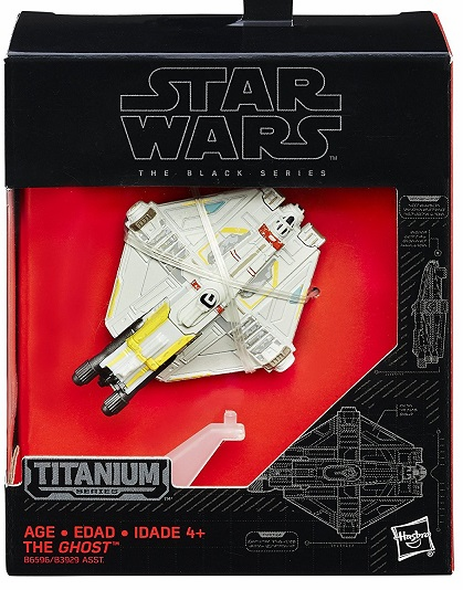 Star Wars - Titanium Collecters Series - The Ghost Ship