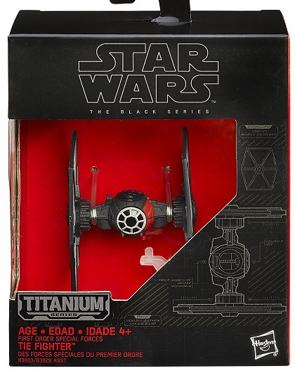 Star Wars - Titanium Collectors - First Order Special Forces Tie Fighter