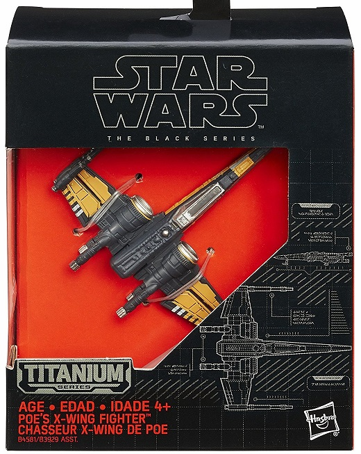 Star Wars - Titanium Collectors - Poe's X-Wing Fighter