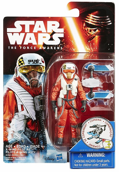 Star Wars - X-Wing Fighter Pilot Asty - 3.75in Figure