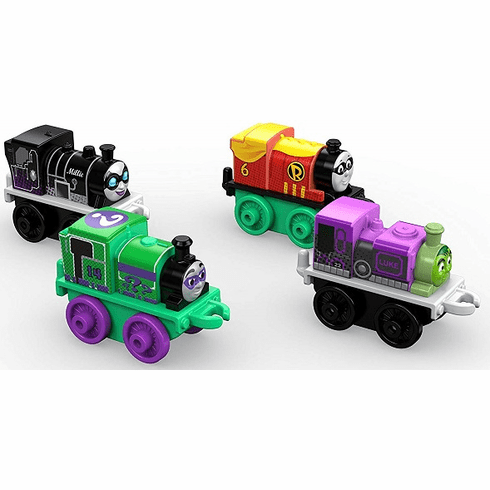Thomas and Friends Fisher-Price MINIS Diecast, DC Super Friends #1 (4-Pack)