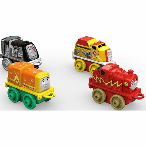 Thomas and Friends Fisher-Price MINIS Diecast, DC Super Friends 3 (4-Pack)