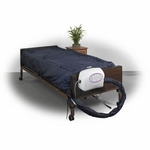 Drive Medical 10  inch Lateral Rotation Mattress with on Demand Low Air Loss Model ls9500