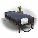 Drive Medical 10 inch True Low Air Loss Mattress System with Pulsation ls9000