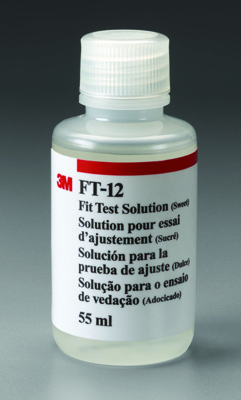 3M  Fit Test Solution, Sweet FT-12 - Case of 6