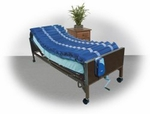 Drive Medical 5 inch Med Aire Low Air Loss Mattress Overlay System with APP 14025n