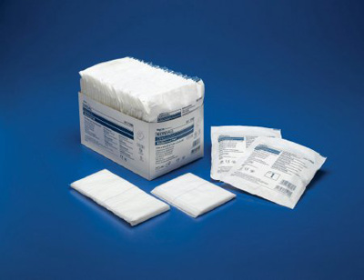 Abdominal Pad Dermacea NonWoven / Fluff 5 X 9 Inch Rectangle NonSterile