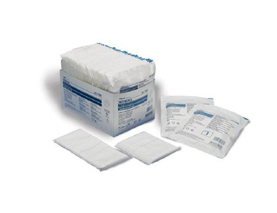 Dermacea Abdominal Pad NonWoven / Fluff 7-1/2 X 8 Inch Rectangle Sterile - Case of 216