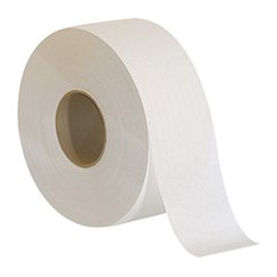 Acclaim Toilet Tissue White 1-Ply Jumbo Size Cored Roll Continuous Sheet 3.5 Inch X 2000 Foot - Case of 8