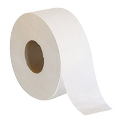 Acclaim Toilet Tissue White 2-Ply Jumbo Size Cored Roll Continuous Sheet 3.5 Inch X 1000 Foot - Case of 8
