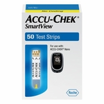 Accu-Chek SmartView Test Strips - 50 Strips
