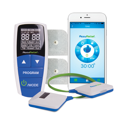 AccuRelief Wireless 3-in-1 Pain Relief Device