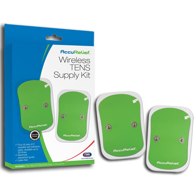 AccuRelief Wireless TENS with Remote Supply Kit