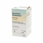 Accutrend Cholesterol Test Strips, 25ct.