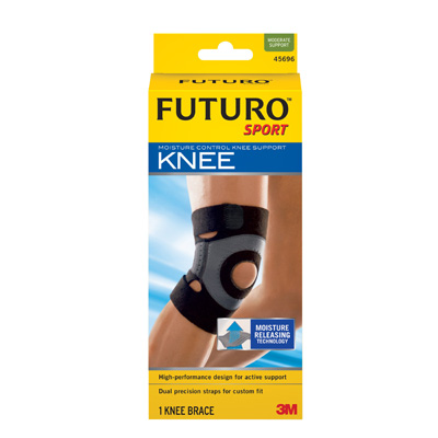 ACE Sport Knee Support, Moisture Control Small
