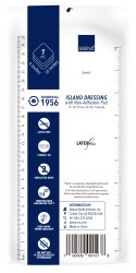 Abena Adhesive Dressing 4 X 10 Inch Rectangle White Sterile - 1956 - Case of 250