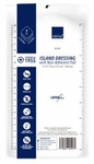 Abena Adhesive Dressing 4 X 8 Inch Rectangle White Sterile - 1955 - Case of 250