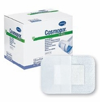 Adhesive Dressing Cosmopor 2 X 2.8 Inch Nonwoven Rectangle White Sterile