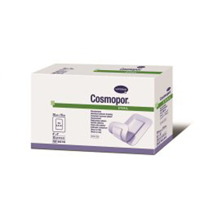 Adhesive Dressing Cosmopor 4 X 8 Inch Nonwoven Rectangle White Sterile